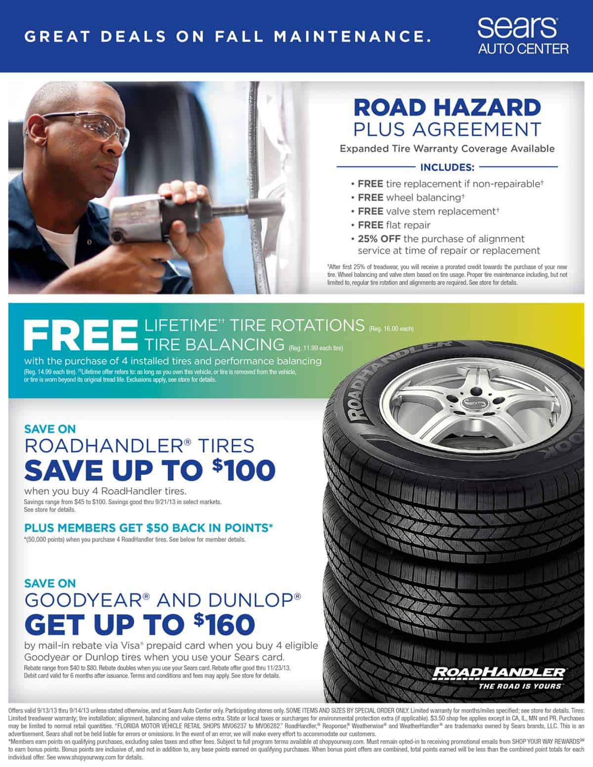 Sears Auto Center Flyers