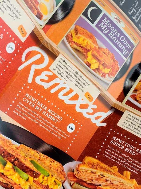 Denny's Menu