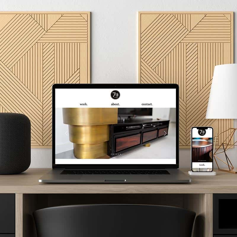 7-3 Design and Joinery Website