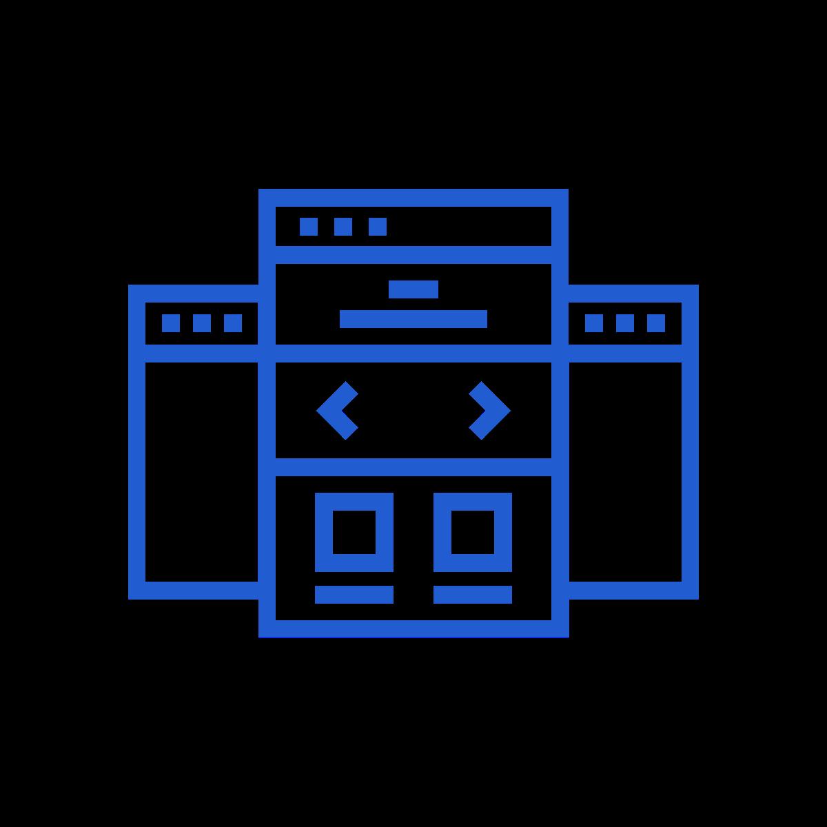 Landing Page Design Icon