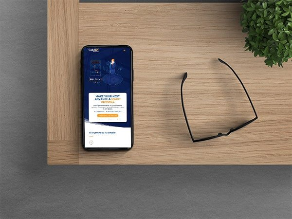 Smart Advance Mobile Website Finance